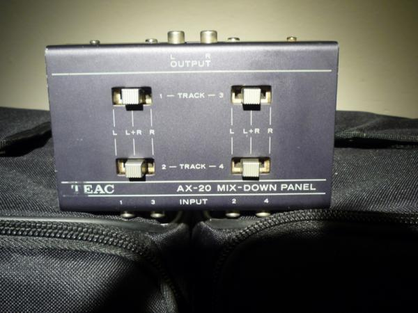 Teac AX - 20 mix-down panel vintage