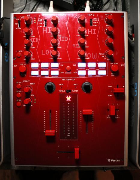 Vestax Pmc 05 Pro 4 Vestax Pmc-05 Pro iv Red Top
