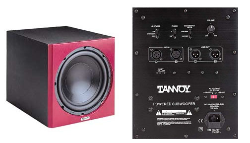 Tannoy  sub bass box Reveal Sub 10