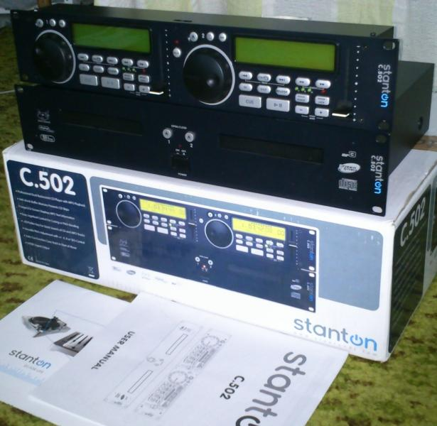 Stanton C 502 double CD/mp3