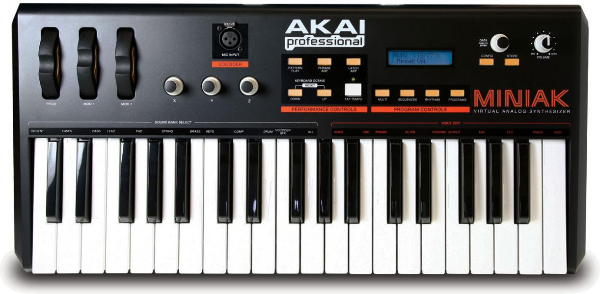 Akai Miniak Professional- virtual analog