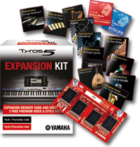 Tyros5 expansion packs