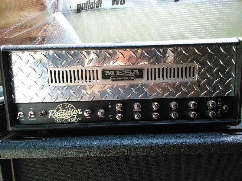 Mesa Boogie SINGLE RECTIFIER SOLO 50 SERIES 1