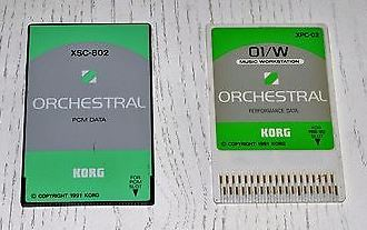 XSC-2S Orchestral Card Set pre KORG O1Wfd
