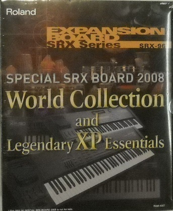 Koupím Roland SRX 96 World Collection and Legendary XP Essentials