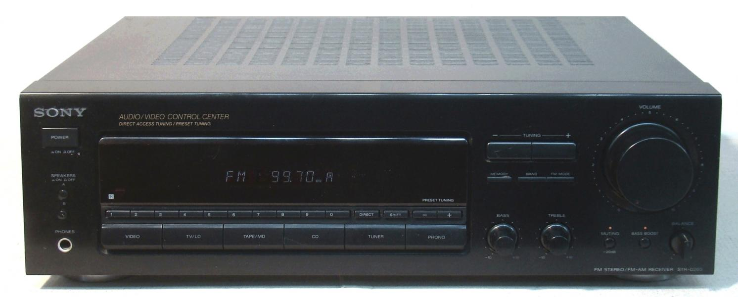 AM - FM receiver SONY 2x 75 W