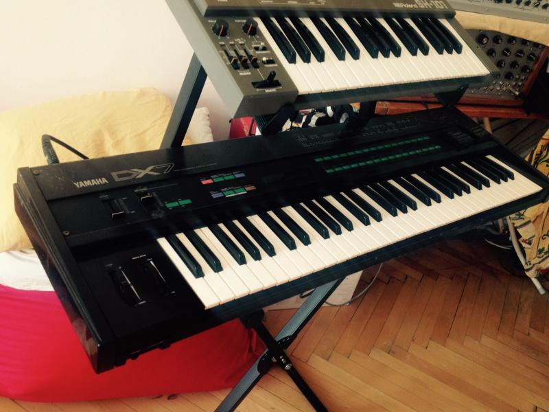 YAMAHA DX7 ## SuperMAX Expansion + 2xCartridge + case