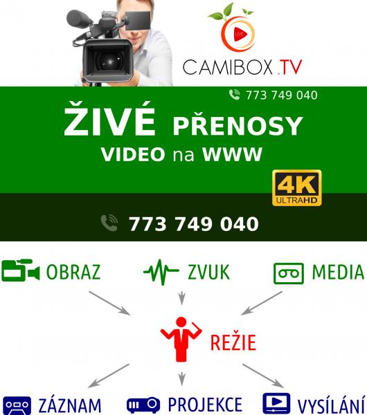 LIVE Video přenosy v Ultra HD (4K) kvalitě & Surround (5.1) zvukem - CAMIBOX.TV