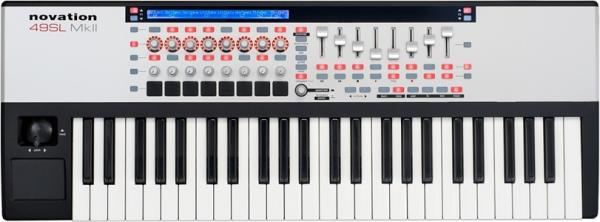 NOVATION ReMOTE 49 SL MKII midi masterkeyboard