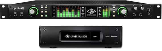 Universal Audio Apollo 8 Duo Core + Octo Core Thunderbolt UAD Satellite + 7000 Euro UAD pluginy