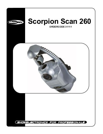 Showtec Scorpion scan 280 - 4ks