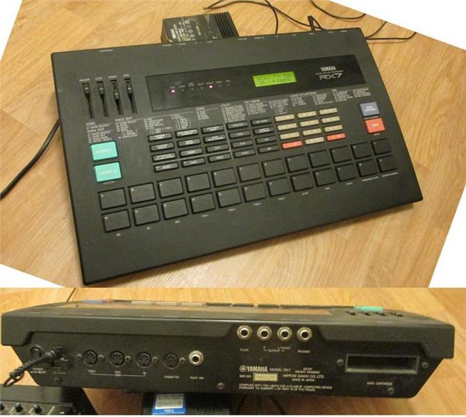 Yamaha RX7 - vintage drum machine