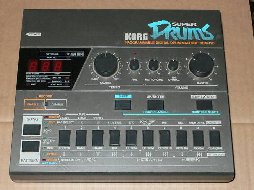 Korg DDM-110 Super Drums