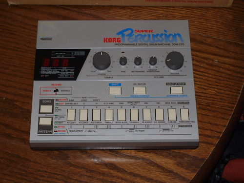 Korg DDM-220 Super Drums