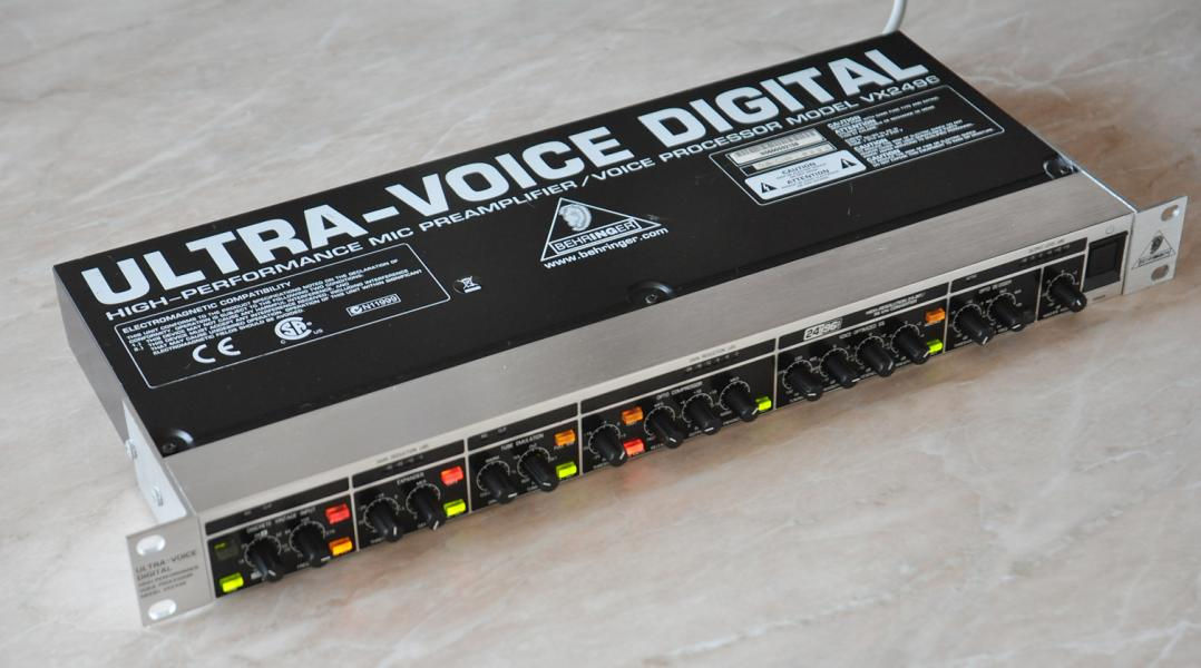 PREDANE Behringer ULTRA-VOICE DIGITAL VX2496