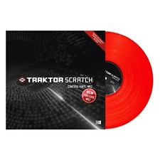Traktor timecode red and white