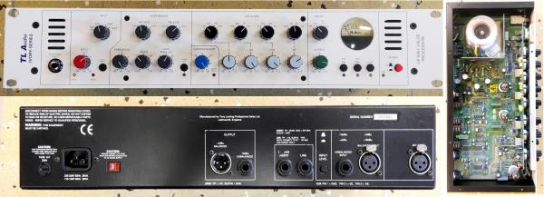 TL AUDIO Ivory 5051 PREAMP/EQ/COMP (Made in England r.v.1999)