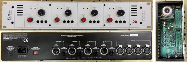 TL AUDIO Ivory 5001 4-channel PREAMP (Made in England r.v. 1997)