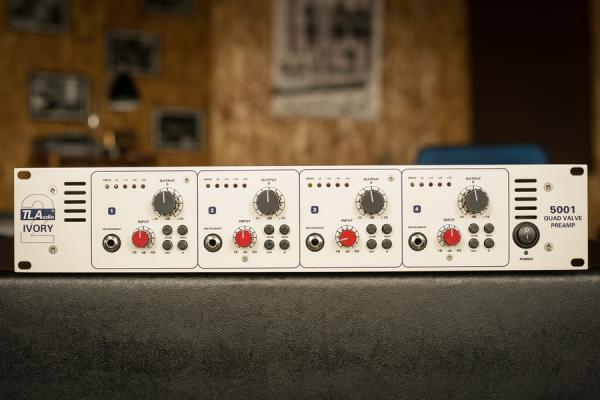 TL AUDIO Ivory2 5001 4-channel PREAMP (Made in England)