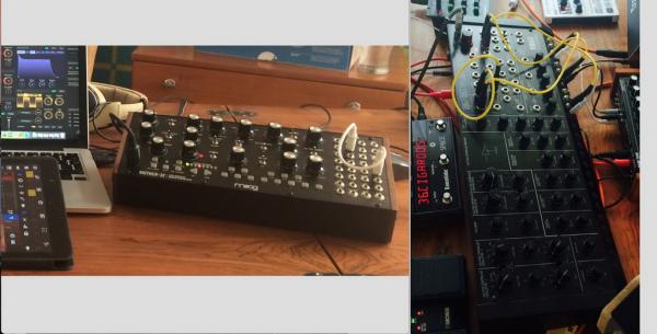KORG MS20M KIT bez sequenceru + MOOG Mother 32