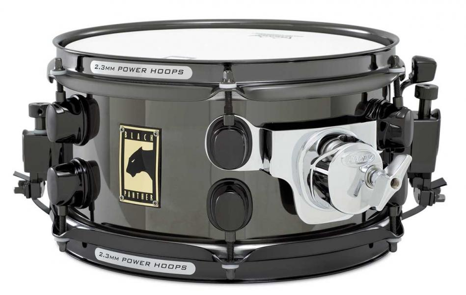 "Prodám 10""snare drum Mapex Black Panther steel"