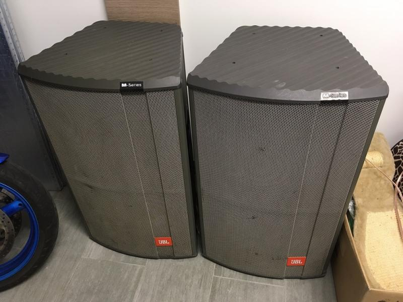 JBL sound power M360 + zesilovač CARVER PM 15A