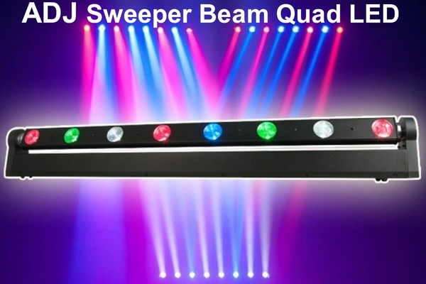 American DJ Sweeper Guad Beam Led