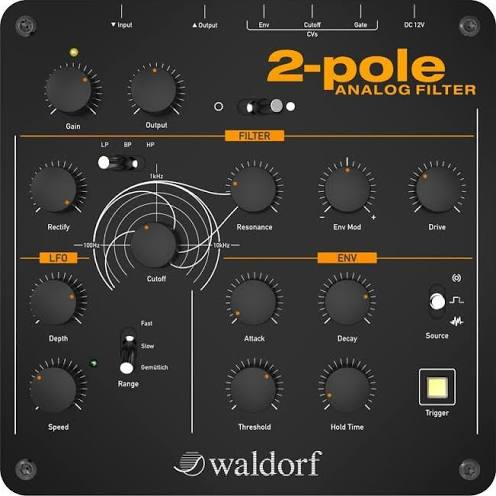Waldorf 2 pole - Analog Filter