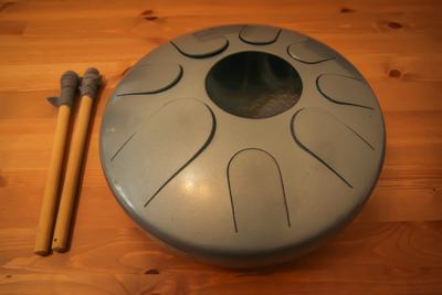 Milltone (Steel Tongue Drum, Hank, Hang, Handpan, Hapi drum styl)