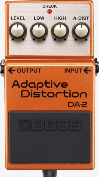 Efekty Boss AD-2 Adaptive distortion, Turbo Distortion, Turbo Overdrive, atd..