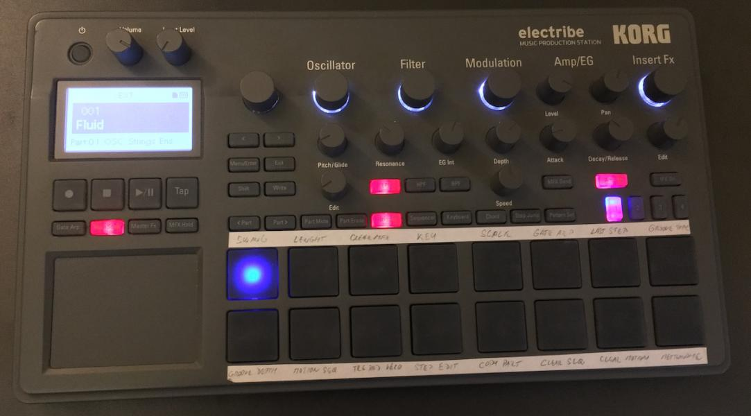Korg Electribe 2 (grey)