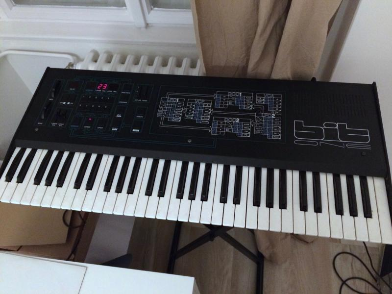 SUPER RARE Crumar Bit One vintage synth, fully working!