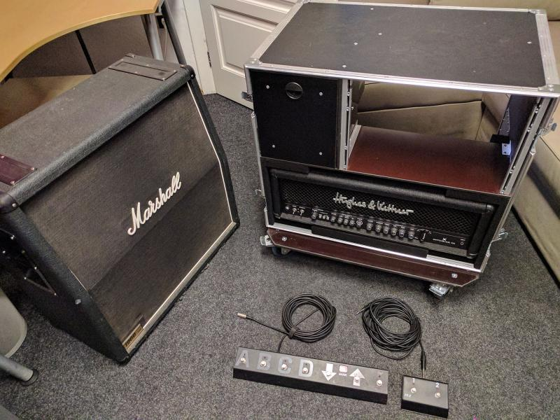 Hughes & Kettner Switchblade 100 Head + Case