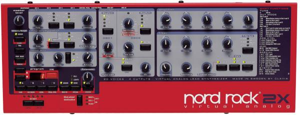 Nord Lead Rack 2x
