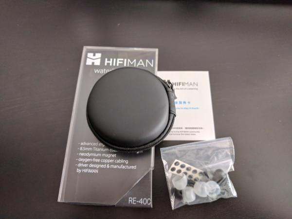 HiFiMAN RE-400 Waterline