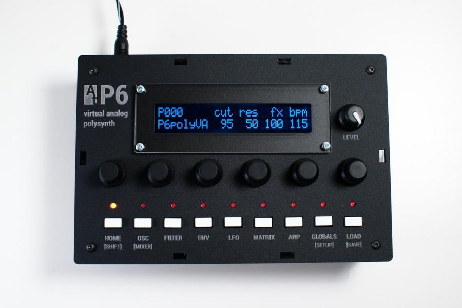 Audiothingies P6 syntezator