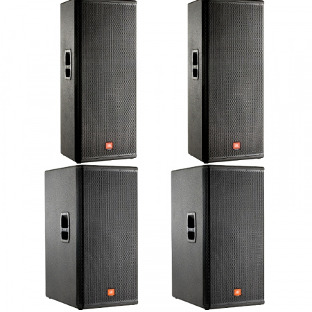 JBL MRX 2x 525 + 2x 258S + 2x CROWN xls 602