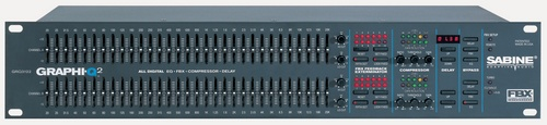 SABINE GRQ3122-E Graphic 2-Channel Equalizer