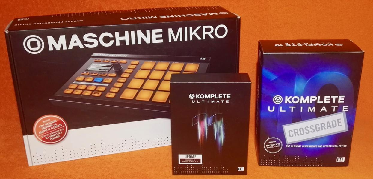 rezervace - Native Instruments Komplete Ultimate + zdarma Maschine Mikro