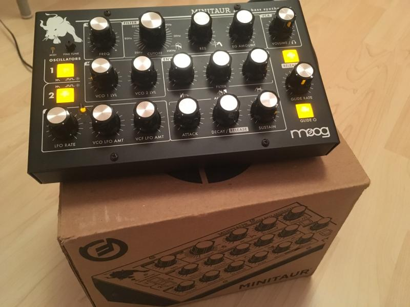 Moog Minitaur - Bass synthesizer