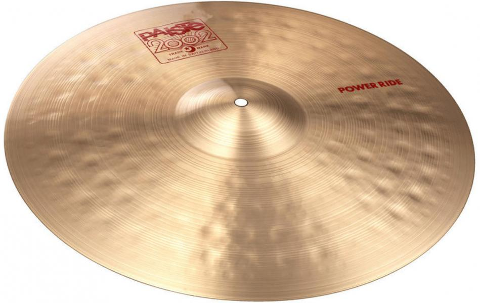 "Koupím činel Paiste 2002,3000,2000 - 20"" Power Ride"