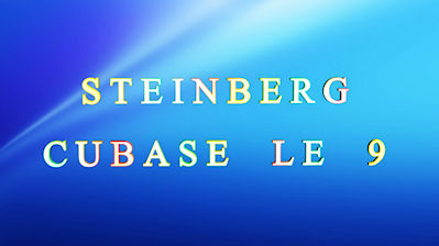Steinberg Cubase LE 9   Mac + PC