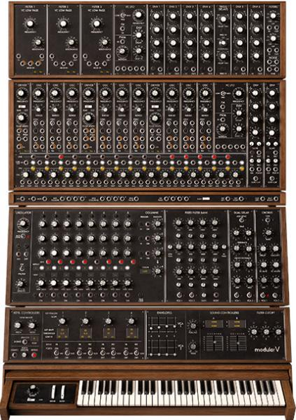 Arturia Modular V3 a Arturia V Collection 5 pro PC i Mac