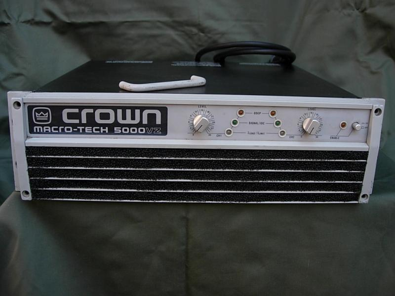 Crown  Macro-Tech 5000 VZ