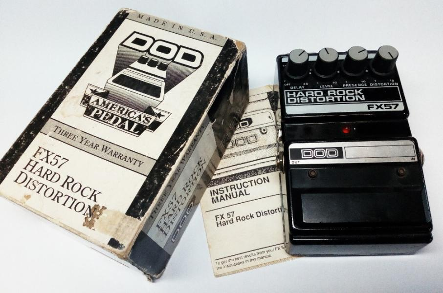 DOD FX57 Hard Rock Distortion (+BBD analog delay)