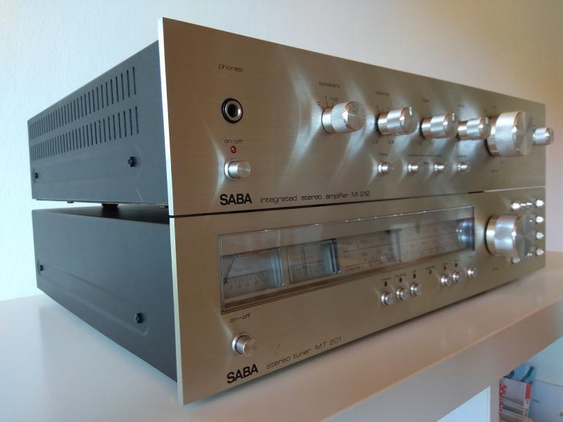 7db803236b4de Výborný stereo zesilovač SABA MI-212 a tuner SABA MT-201