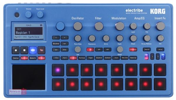 Korg Electribe 2 Synth blue