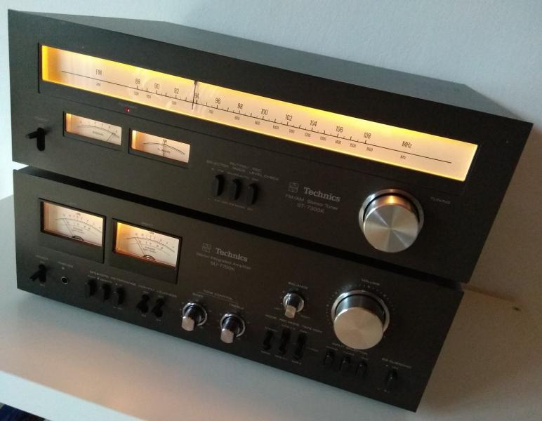 f4ab497f0479f Stereo zesilovač TECHNICS SU-7700 a tuner TECHNICS ST-7300