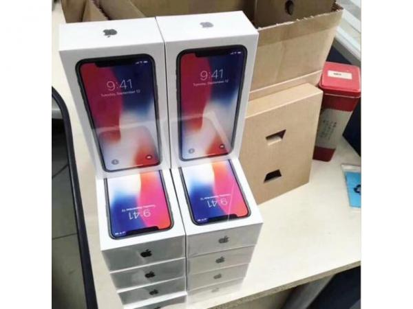 Apple iphone x 265gb and samsung s9+