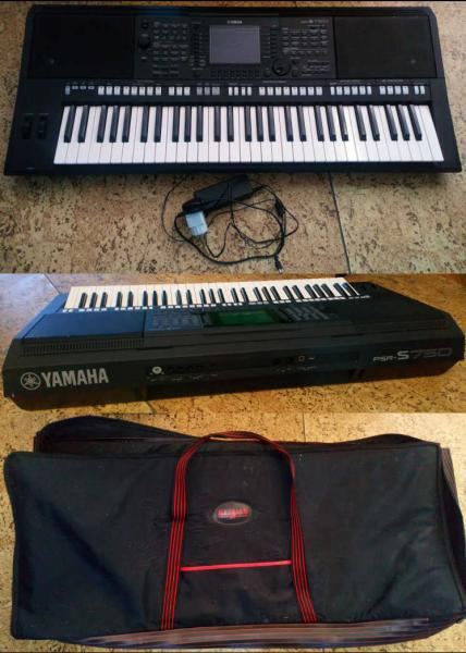 Yamaha PSR S750 - Workstation